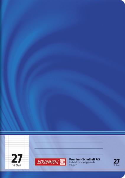 Baier & Schneider Schulheft A5 Vivendi Lin.27 16Blatt
