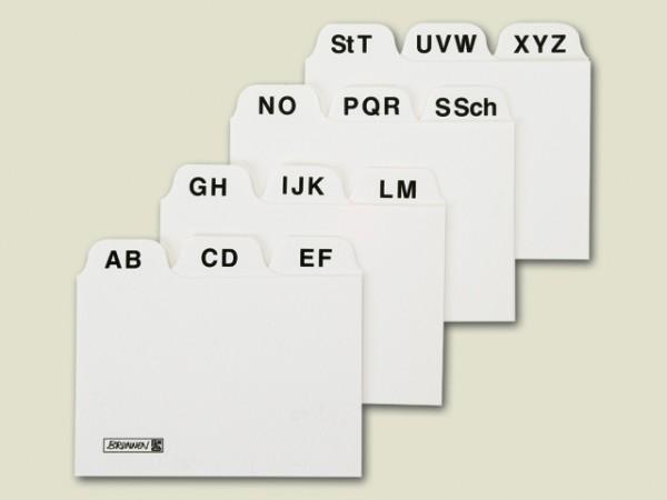 Baier & Schneider Karteiregister A8 A-Z Karton