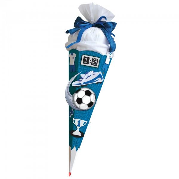 "Roth Bastelset ""Soccer"" 68cm mit Sound blau"
