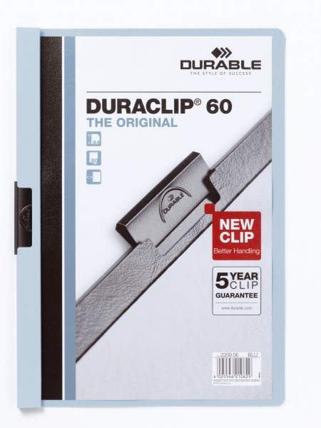DURABLE Hunke & Jochheim Klemm-Mappe DURACLIP® 60Blatt