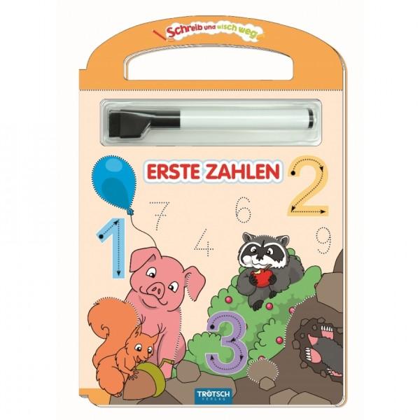 """Trötsch Schreib-und-wisch-weg """"Erste Zahlen"""" mit Stift"""