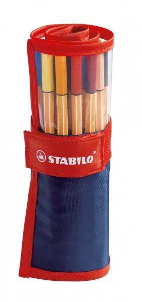 STABILO Fineliner point 88 25er Rollerset
