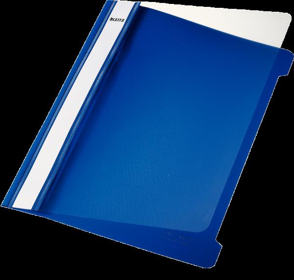 Esselte Leitz Schnellhefter A5 PVC blau