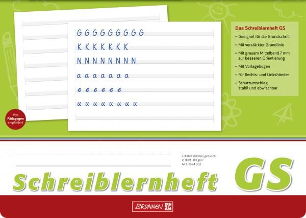 Baier & Schneider Schreiblernheft A4quer Lin.GS