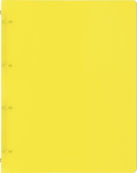 Baier & Schneider Ringbuch A4 FACT! 4R 16mm gelb