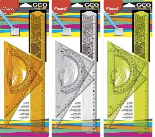 Maped Zeichengarnitur GEO Custom 4 teilig groß
