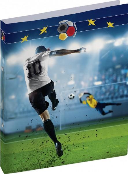 Baier & Schneider Ringbuch A4 2R 16mm Fußball PP