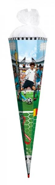 """Roth Schultüte """"Soccer"""" 100cm - sechseckig"""