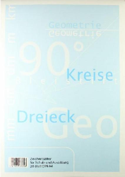 Seehaus Arbeitsblätter Technisch-Zeichnen A4 Block 20 Seiten
