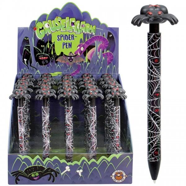 Trendhaus Kugelschreiber Gruselalarm Spider