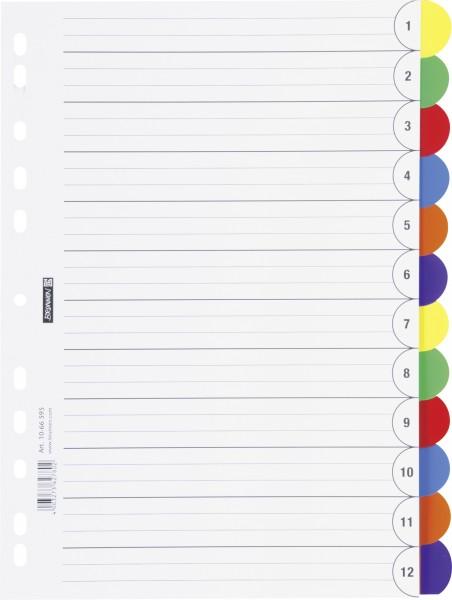 Baier & Schneider Ringbuchregister A4 12-teilig