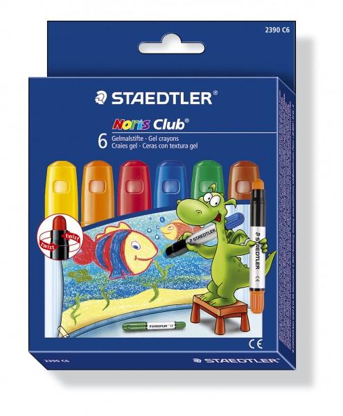 STAEDTLER Gelmalstift Noris Club 2390 Standard 6er-Etui