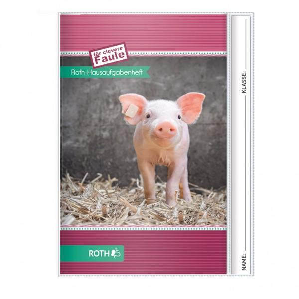 """Roth Hausaufgabenheft Tiere für clevere Faule """"Schwein"""""""