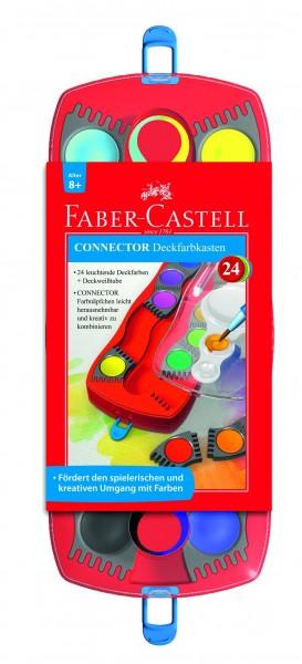 A.W. Faber-Castell Farbkasten Connector 24 Farben D 8+