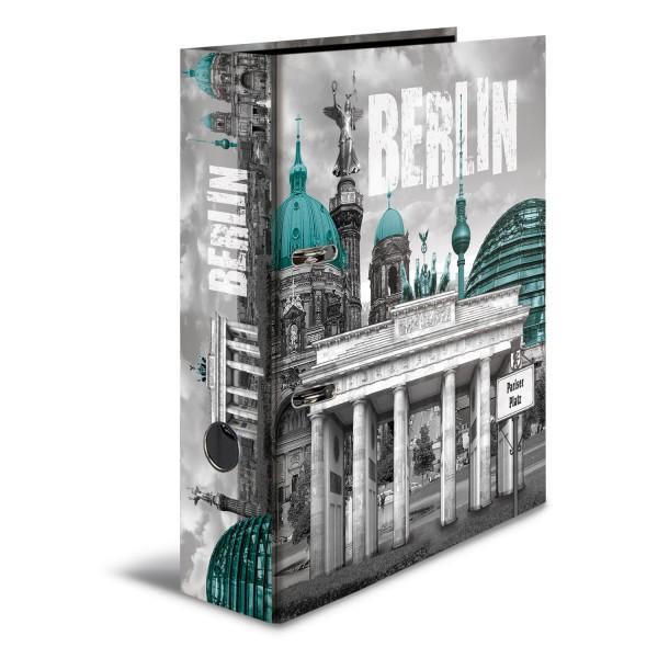 HERMA Ordner A4 70mm TrendCities Berlin