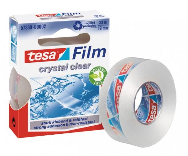tesa Klebefilm Tesafilm kristall-klar 19mmx33m