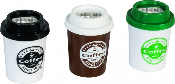Baier & Schneider Dosenspitzer doppelt Coffee to go FunCollection