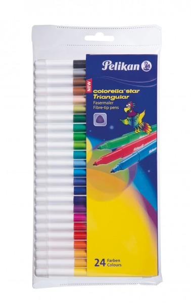Pelikan Fasermaler Colorella Triangular C303 24 Farben