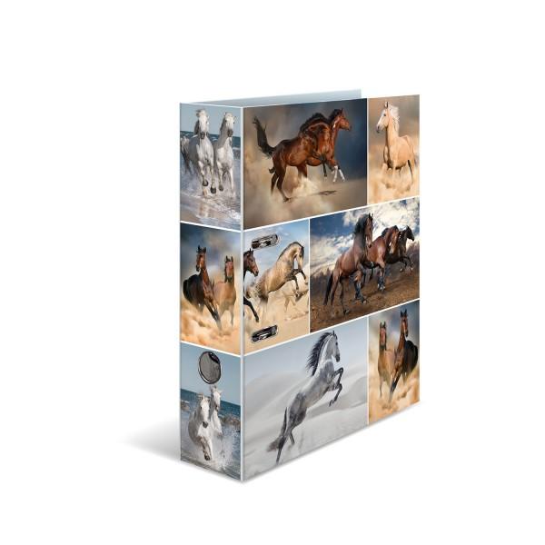 HERMA Ordner A4 70mm Pferde