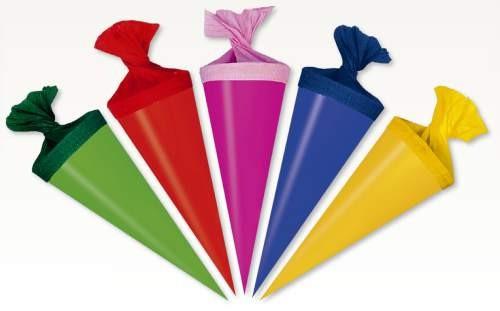 Nestler Minischultüten 10er Set 12 cm