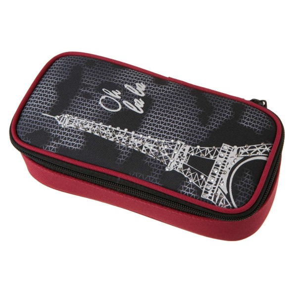 "Schneiders-Vienna Walker Pencil Box Paris ""Grey"""