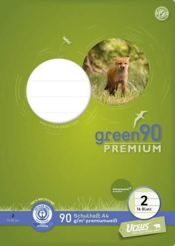 Format Werk Ursus Green 90 A4 Lin.2